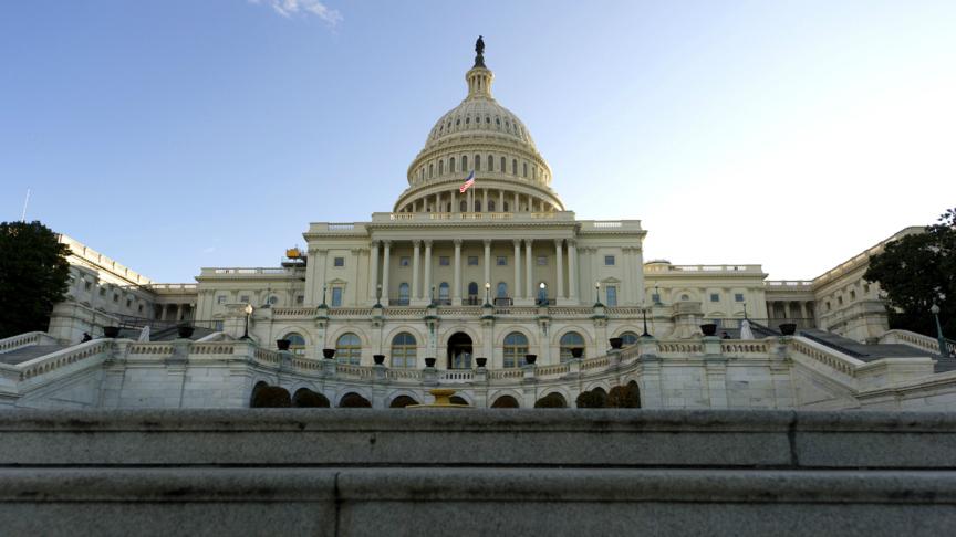 WASHINGTON - Capitol Hill in Washington DC.